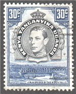 Kenya, Uganda and Tanganyika Scott 76a Used